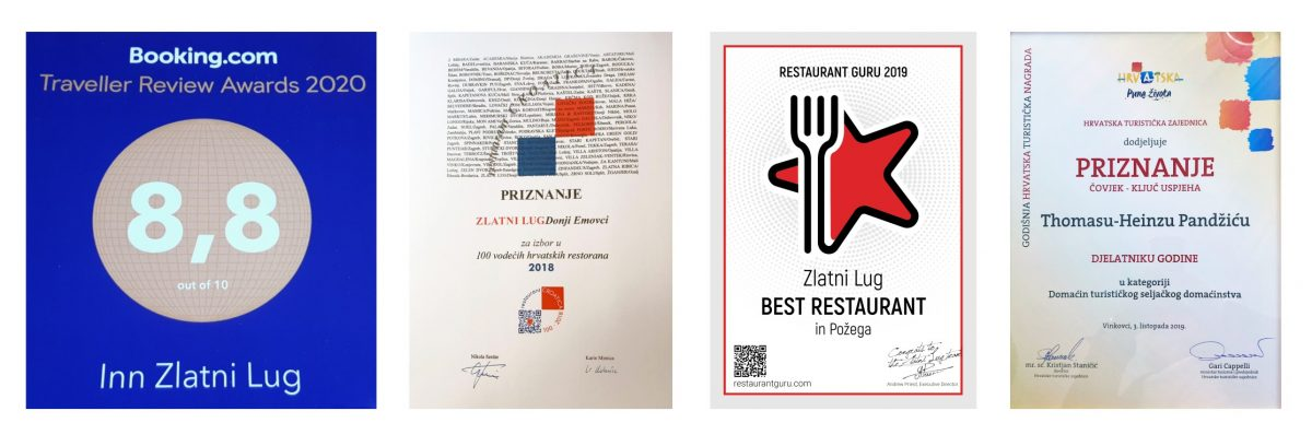 Another recognition for restaurant Zlatni Lug